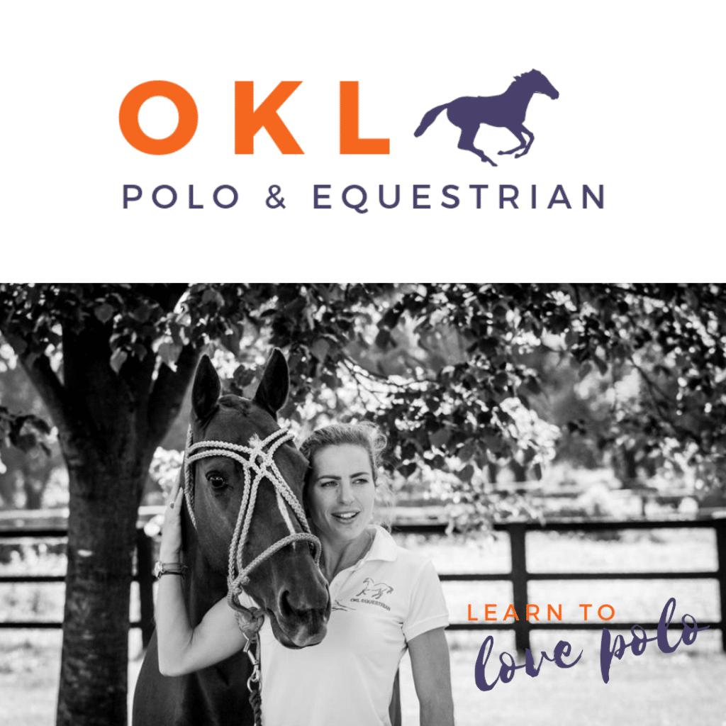 Logo Design OKL Polo & Equestrian